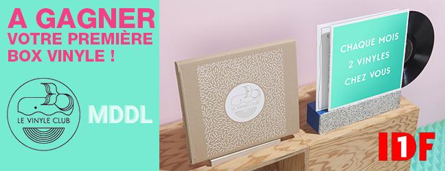 Gagnez votre première box du Vinyle Club !
