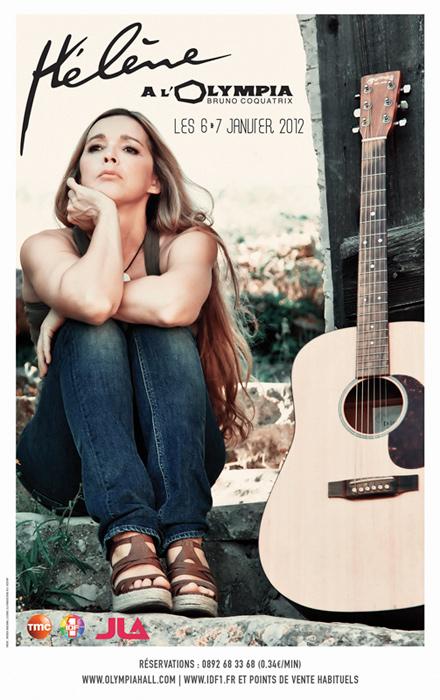 Réservez vos places pour le Spectacle d'Hélène à l'Olympia les 6 et 7 janvier 2012