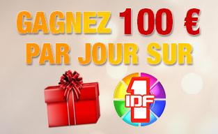 Gagnez 100 euros par jour sur IDF1