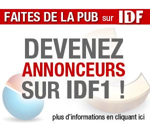 Devenez annonceurs sur IDF1