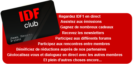 Inscription au Club IDF1