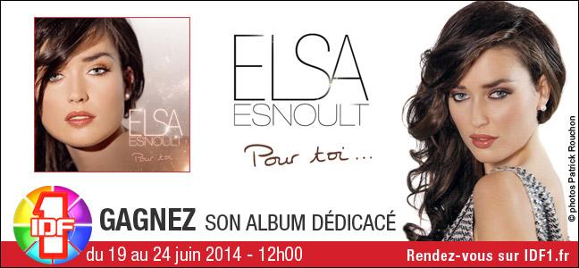 Gagnez l'album dédicacé d'Elsa Esnoult