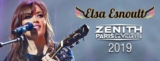 Elsa Esnoult au Zénith de Paris 2019