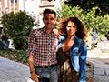 Avec Manuela Lopez